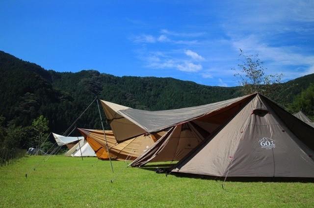 到着したらまずはキャンプサイトを確保しよう!