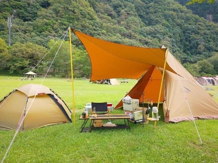 上小川キャンプ場は自然が豊富なキャンプ場!アユ釣りもできる!