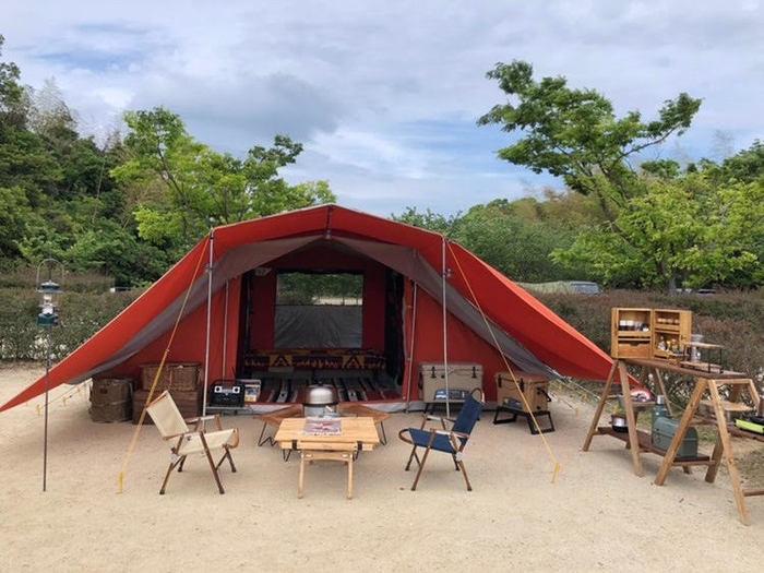 8人用大型テントの立て方|立てやすい使いやすい大型テント14選