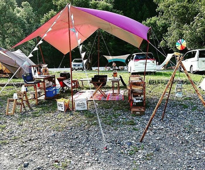 秩父巴川オートキャンプ場で大自然キャンプを満喫しよう!アクセスも良好!