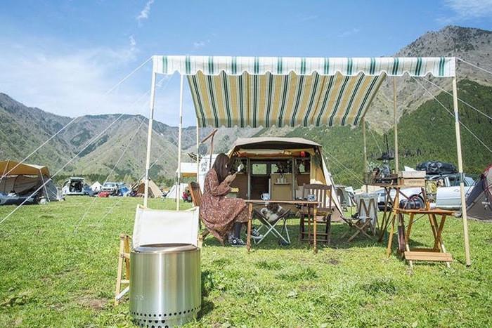 泊まれるキャンプサイトはフリーサイトだけ!