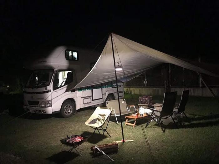 夜は星空の見えるキャンプ場でのんびり過ごそう