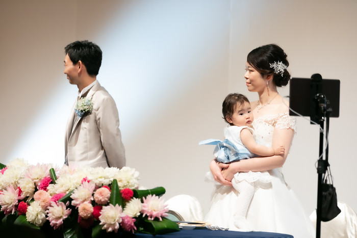 リアルとオンラインを組み合わせて、私たちもゲストの皆様も、いろいろな形で楽しめる結婚式を行いました!
