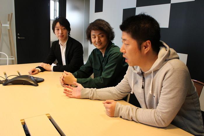 入社の決め手は「社長の人柄」。3人が語る中山社長の魅力とは。