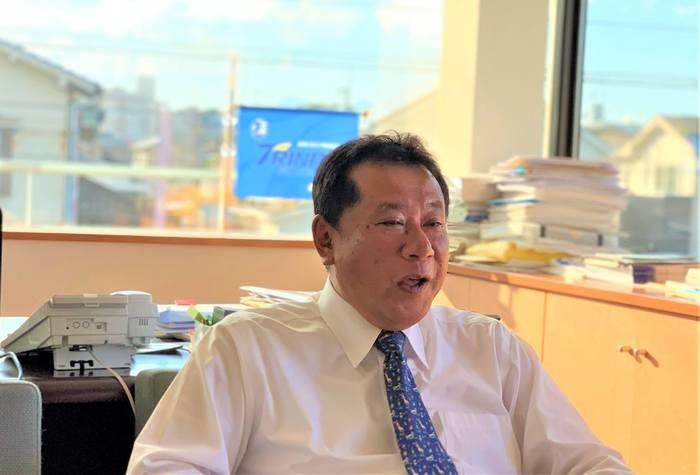 大分トリニータ選手の送迎を行う日豊タクシーグループが目指す地域貢献
