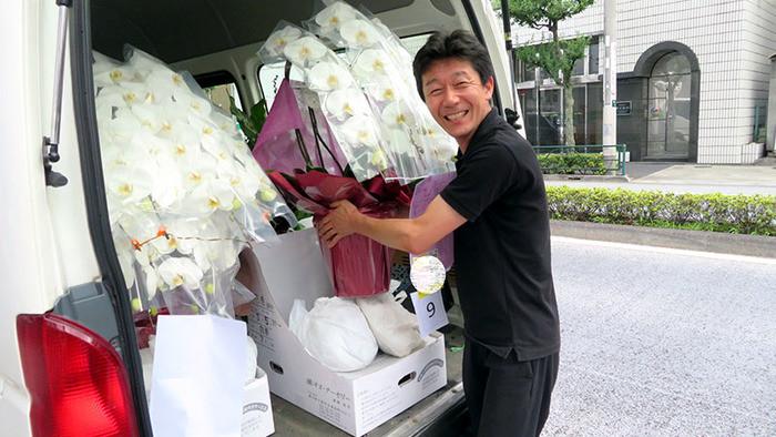 圧倒的な花の取扱量が自慢。会社の顔として誇りを持って働けるPREMIERGARDEN