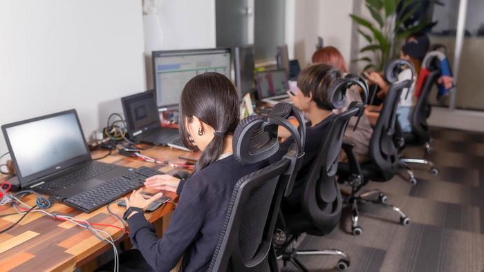 社員数は昨年から2.5倍に。現在、大きく成長中!